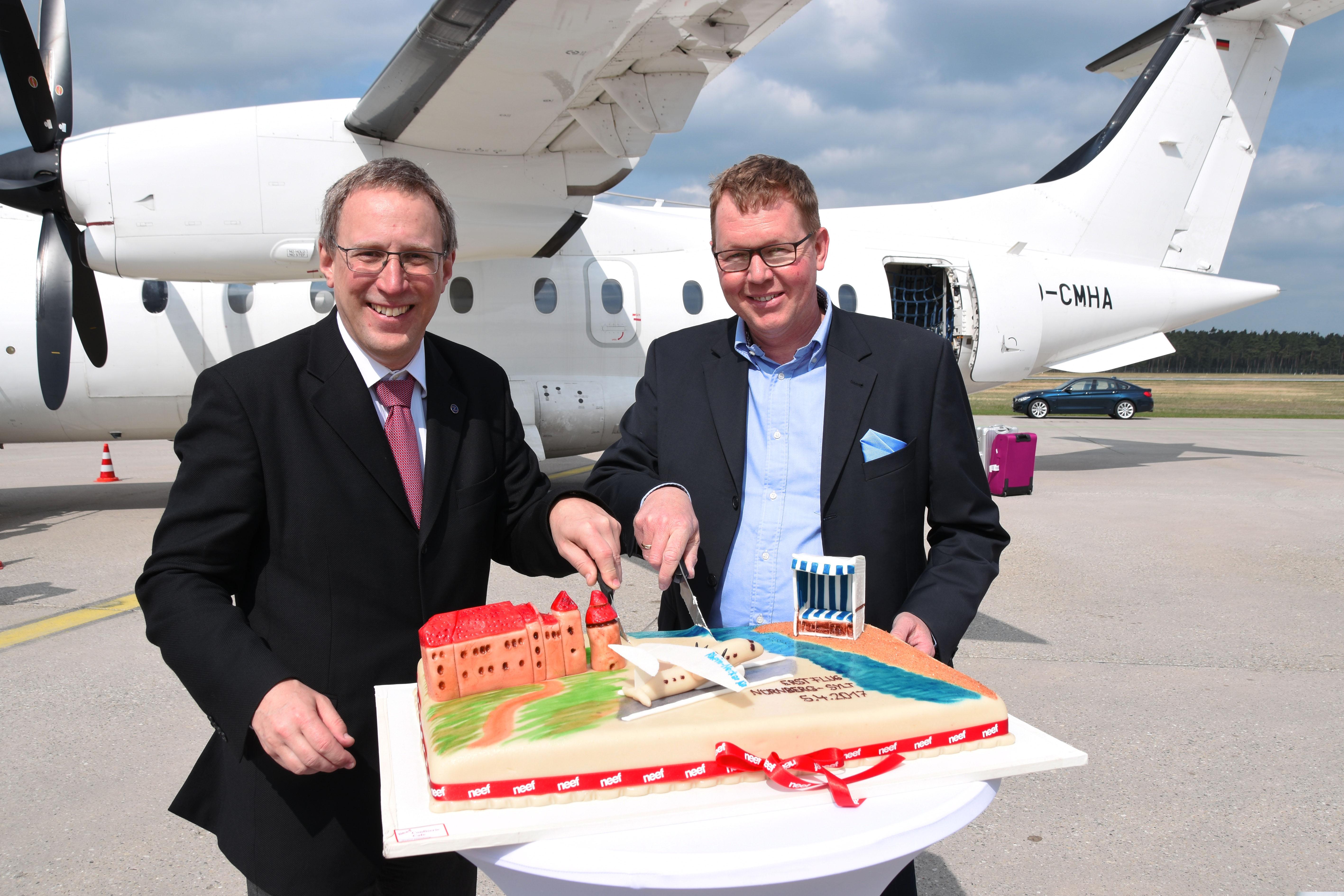 Mit Rhein-Neckar Air nonstop von Nürnberg nach Sylt