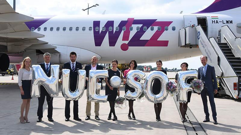 New flights to Sofia <br> Wizz Air further expands offering from Nuremberg