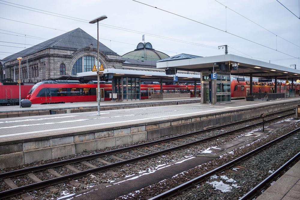 Hauptbahnhof in Nürnberg