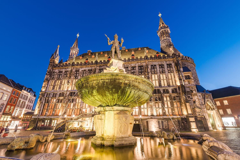 Deutschland, Aachen, Rathaus zu Aachen