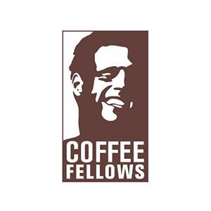 Das Logo des Kaffeehauses Coffee Fellows.