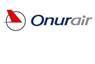 Das Logo der Airline Onur Air
