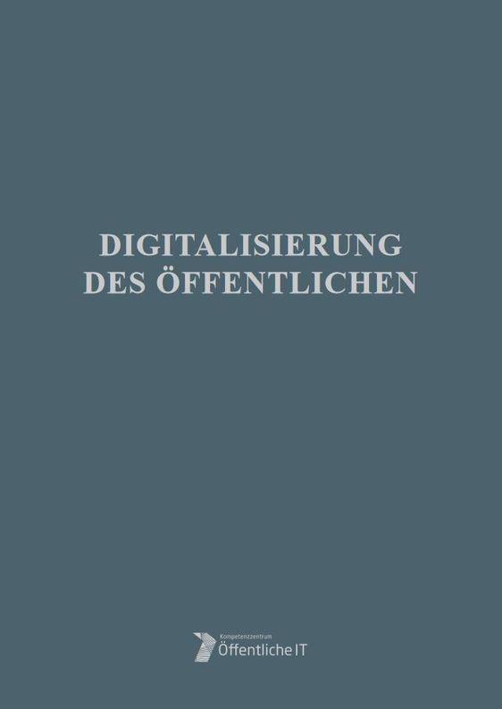 Digitalisierung des Öffentlichen Cover