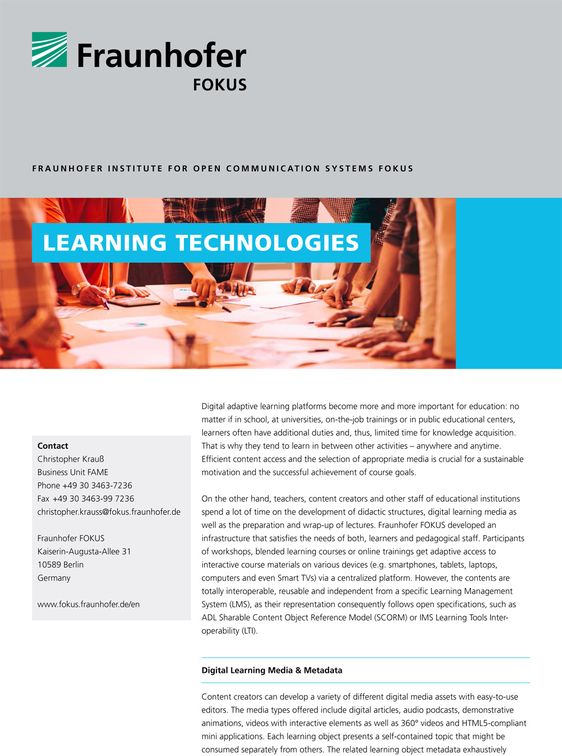 flyer learning technologies cover