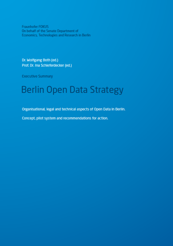 Screenshot Berlin Open Data Strategy