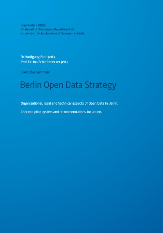Screenshot Berlin Open Data Strategy