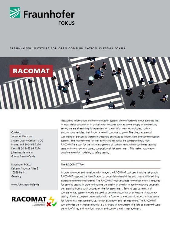 Project information RACOMAT
