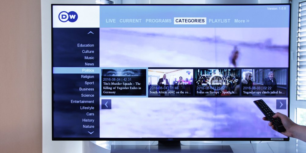 fame news deutsche welle app smart tv 970x485