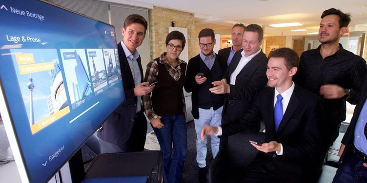 FAME. Smart TV, App, 2014, news, Immobilien, Scout,