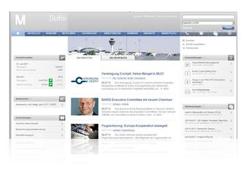 Both the intranet as well as the Internet website of Munich Aeroport with its numerous sub-sites are managed in a uniform layout with the aid of the Infopark CMS.
