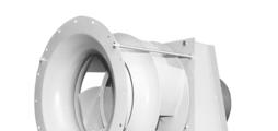 Radiální ventilátory pro průmyslové sušicí systémy a další použití