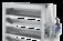 Jalousieklappen aus Aluminium zur besonders luftdichten Absperrung in lufttechnischen Anlagen
